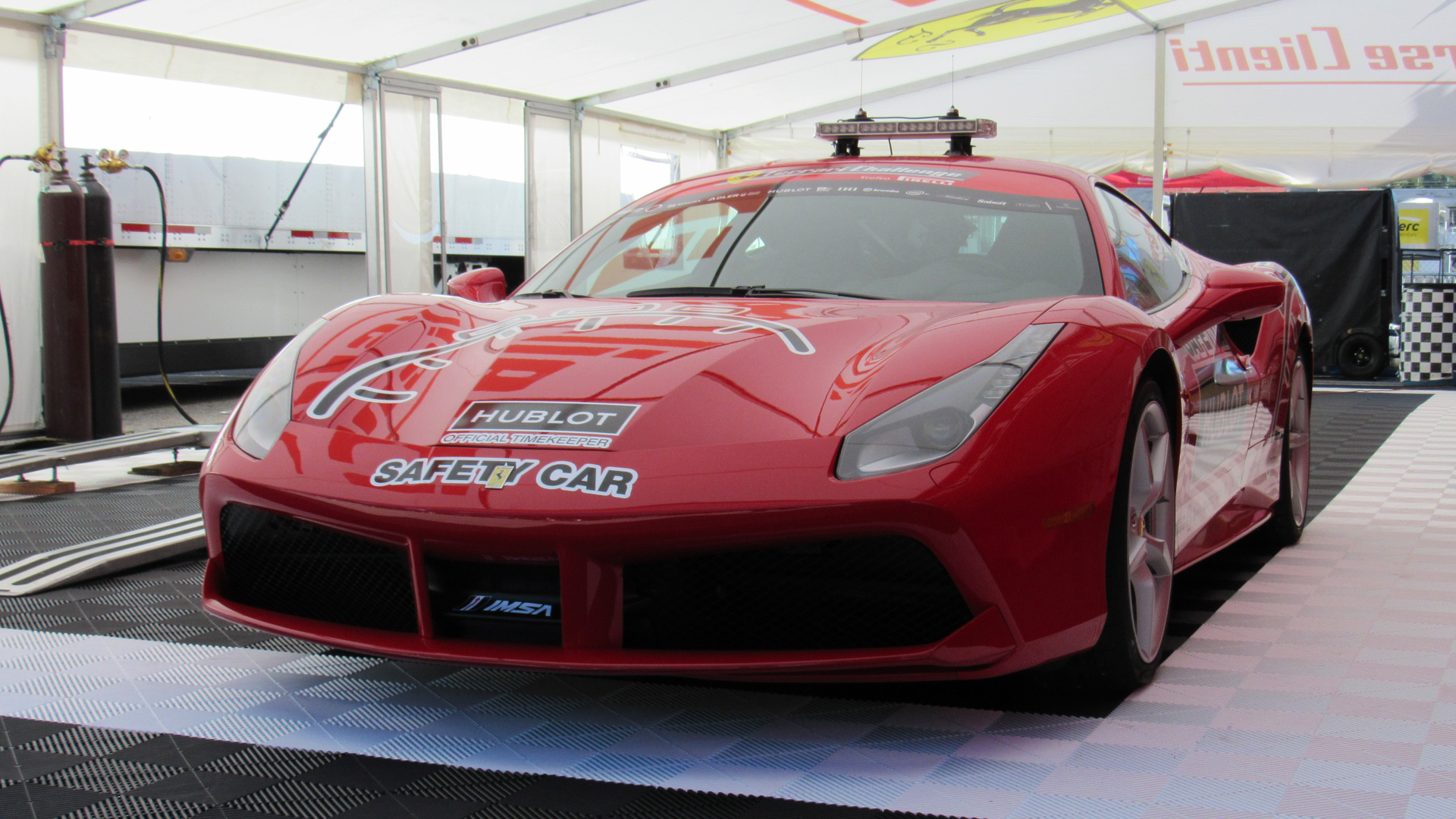 I've always secretly wanted to be a safety car driver.